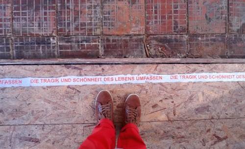 Writing on the floor - zur KLP im Herrenhaus Salderatzen