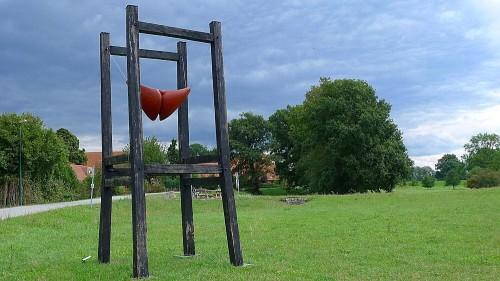 Der Schrein - bildhauerische Arbeit von Klaus Großkopf