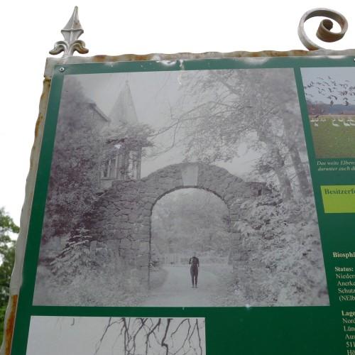 Infotafel Schloss Wehningen