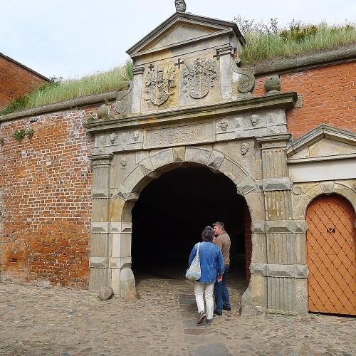 Renaissance-Eingangsportal der Festung Dömitz