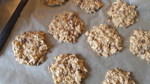 Kekse bereit zum Backen