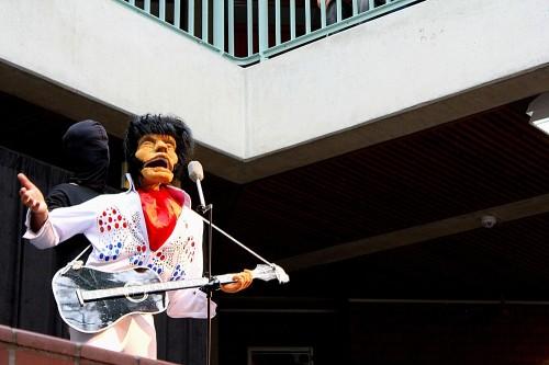 Elvis is back - Auftritt im Kreishaus Lüchow