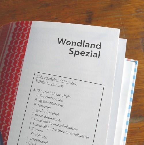 """Wendland spezial"" - entdeckt im Kochbuch ""24 Rezepte zur kulinarischen Weltverbesserung"""
